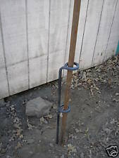 Flag pole holder StringBean's blacksmith shop