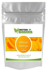 BETTER BODIES AFRICAN MANGO DIET TABLETS PILLS WEIGHT LOSS SLIMMING TABS