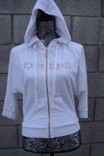 BEBE - White Terry Cloth Track Jacke - Size XS - NWOT