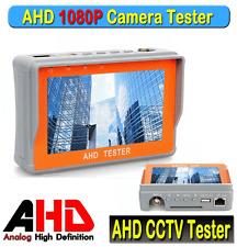 """Portable 4.3"""" LTPS LCD 1080P CCTV Camera Display AHD Monitor Tester 12V-Output"""