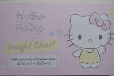 Hello Kitty Height Chart Home Wall Decor Gift Set