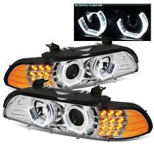 FLEETWOOD PACE ARROW 200 2003 HEAD LIGHTS LAMP PROJECTOR HEADLIGHTS CHROME - SET