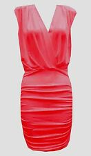 Women's V Neck Thigh-Length Cocktail Dresses