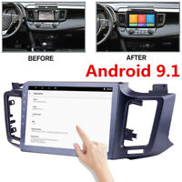 """10"""" Android 9.1 Car Radio Stereo Player GPS Wifi 2+32GB For 2013-17 Toyota RAV4"""