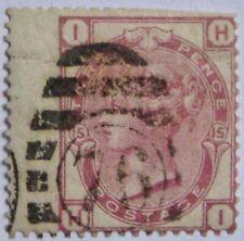 1873-80 GREAT BRITAIN #61: VG/F Used Queen Victoria - Plate 15 - Jumbo margin