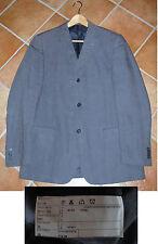 Giacca UOMO - GB SPORTELLI - taglia 50 - colore blu-grigio - LINO