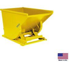 FORKLIFT HOPPER / DUMPSTER Industrial - Self Dumping - 1 CY - 7000 Lb Cap HDY