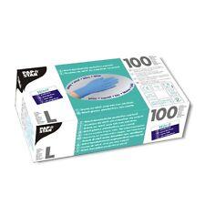 1000 blaue Handschuhe Nitril puderfrei Einweghandschuhe Größe L