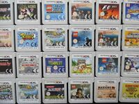 Nintendo 3DS - CART ONLY - ALL TESTED/WORKNG - Many Top Titles Available