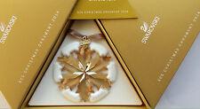 Swarovski SCS GOLDEN SHADOW 2014 Christmas Ornament MIB Limited Edition