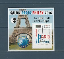 BLOC CNEP 72 salon  Paris Philex  le football et l' Europe 2016  non dentelé