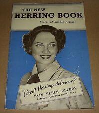 1930s HERRING FISH RECIPE BOOK - KIPPERS - by SUFFRAGETTE MABEL EDWARD WEBB