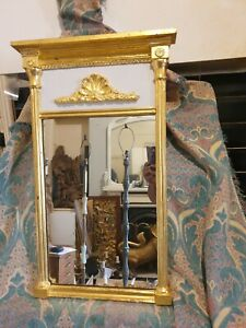Stunning Rare Beautiful Condition Victorian Antique Gold Giltwood Pier Mirror