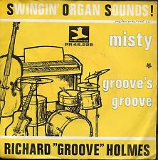"7inch RICHARD ""GROOVE"" HOLMES misty HOLLAND 1966+ PS"