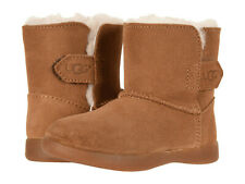 Toddler UGG Keelan Boot Suede Upper 1096089T Chestnut 100% Authentic Brand New