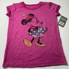 Disney Store Girls Size XS 4 Minnie Mouse Pink Classic T Shirt New Free Shipping