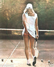 Tennis Photo Poster/Woman Tennis Player scratching her butt/bottom/seat/16x20 in