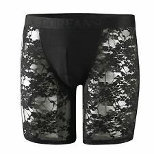 Doreanse Men's 1953 Lace Long Boxer Short Trunk Designer Underwear