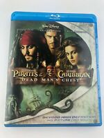 Pirates of the Caribbean: Dead Mans Chest Blu-ray Disc 2007 Bluray Johnny Depp
