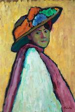 Portrait of Marianne Werefkin di di Marianne Werefkin artista B a3 02853