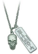 Shonen Jump Death Note Skull + Logo Necklace in Metal Tin Officially Licensed