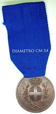 2037) Medaglia bronzo Valor Militare F.G. Zecca Guerra di Libia Zanzur 1912