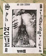 ORIGINAL Punk Concert Flyer BUTTHOLE SURFERS Sphincter Phoenix Vivians 1984 #2