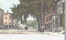 Vintage Postcard-Main Street, Cooperstown NY