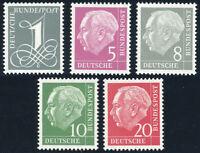 BUND 1960, MiNr. 179-285 Y II, postfrisch, II. Wahl, Mi. 70,-