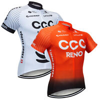 2021 Men Cool Summer Cycling Shirt Bike Jersey Short Sleeve Riding Tops Clothing
