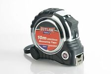 Heavy Duty Professional 10m Tape Measure - 25mm Wide Contractor Builder Workshop