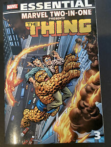 Marvel Two-In-One The Thing Essential Vol 2 & 3 TPB! NM-MT! Never Read! 🔥