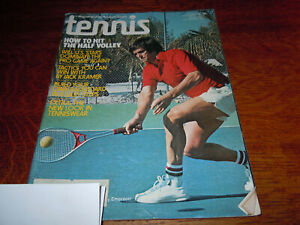 "VINTAGE MAY 1977 "" TENNIS "" SPORTS MAGAZINE"