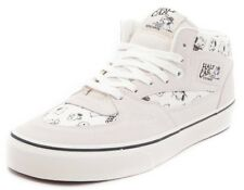 2c13b30683 VANS HALF CAB (PEANUTS) SNOOPY SPIKE FAMILY MARSHMALLOW WHITE CANVAS SUEDE  SZ 11