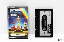 Sinclair ZX Spectrum 48k gioco-CHESS-completamente in guscio OVP BOXED