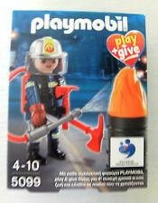 PLAYMOBIL play + Give POMPIERE 5099 Greece Grecia OVP NUOVO Pompieri