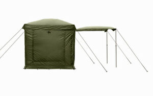 Fox Social Shelter Cooking Tent 2m x 2m CUM292 NEW Carp Fishing Camping