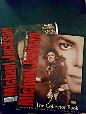 Michael Jackson - Black & White - Collector Book- N°1 et 2 - 1994- french