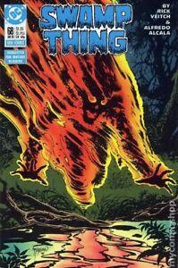 Swamp Thing #68 VF 8.0 1988 Stock Image