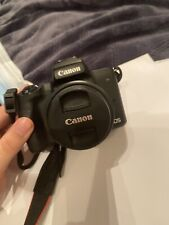 Canon EOS M50 Mirrorless Camera - Black Great condition Only used once!!