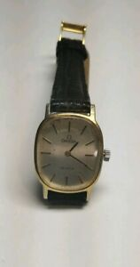 WORKING OMEGA DE VILLE GOLD PLATED MANUAL WINDING LADIES WATCH, CAL. 625