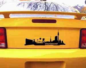 Dortmund Aufkleber Autoaufkleber Skyline 25 Farben Autosticker Sticker Auto