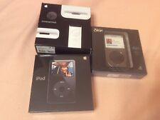 Rare Factory Sealed 30 GB IPod BLACK A1136 5th Generation #MA002LL/A Brand New