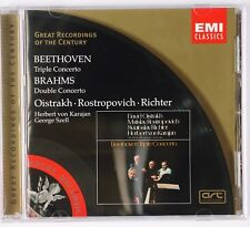 BEETHOVEN: Triple Concerto, Oistrakh, Rostropovich EMI Classics CD NM Disc