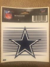 "Dallas Cowboys 3 x 4"" Small Static Cling - Truck Car Auto Window Decal NEW"