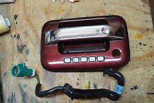 2006 Lincoln Mark LT Driver Front LH Door Handle Metallic Red