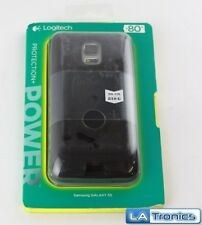 NEW Logitech Protection+ Power Battery Case Samsung Galaxy S5 - Black