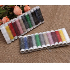 2 Sets 24 Spools Sewing Thread Polyester Crafts Hand Machine Reel Cords String a