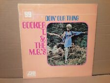 BOOKER T. & T. M.G's - DOIN' OUR THING - SOUL - ROCK - VINYL LP - PLUM LABEL