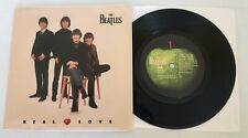 The Beatles / Real Love & Baby's In Black  / Apple 1996 45 & PS / New